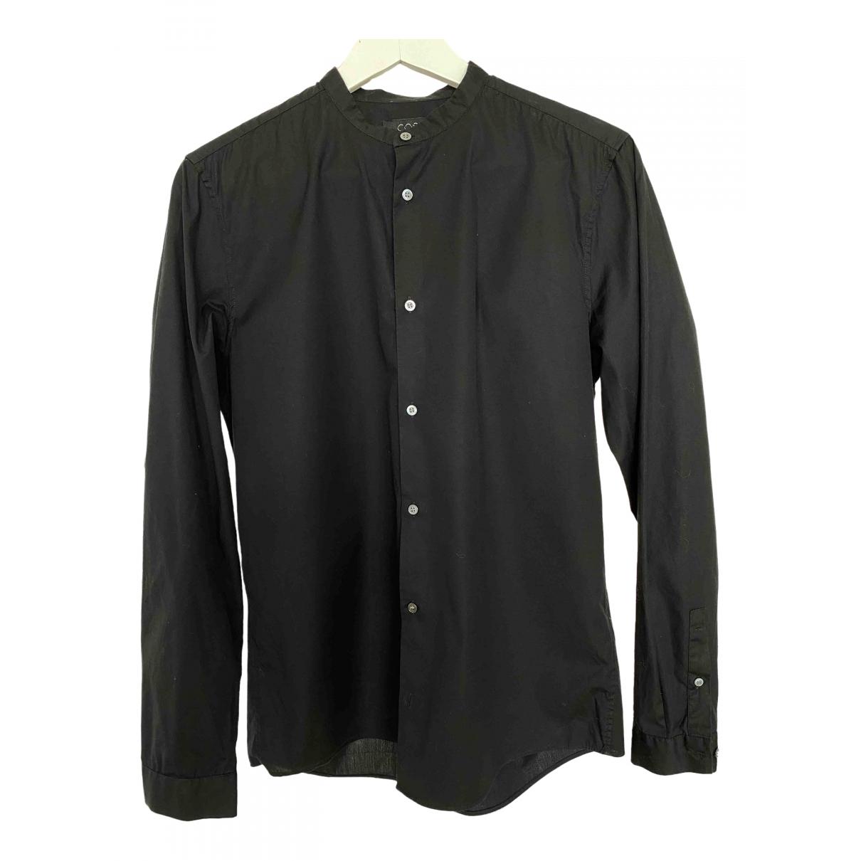 Cos \N Black Cotton Shirts for Men S International