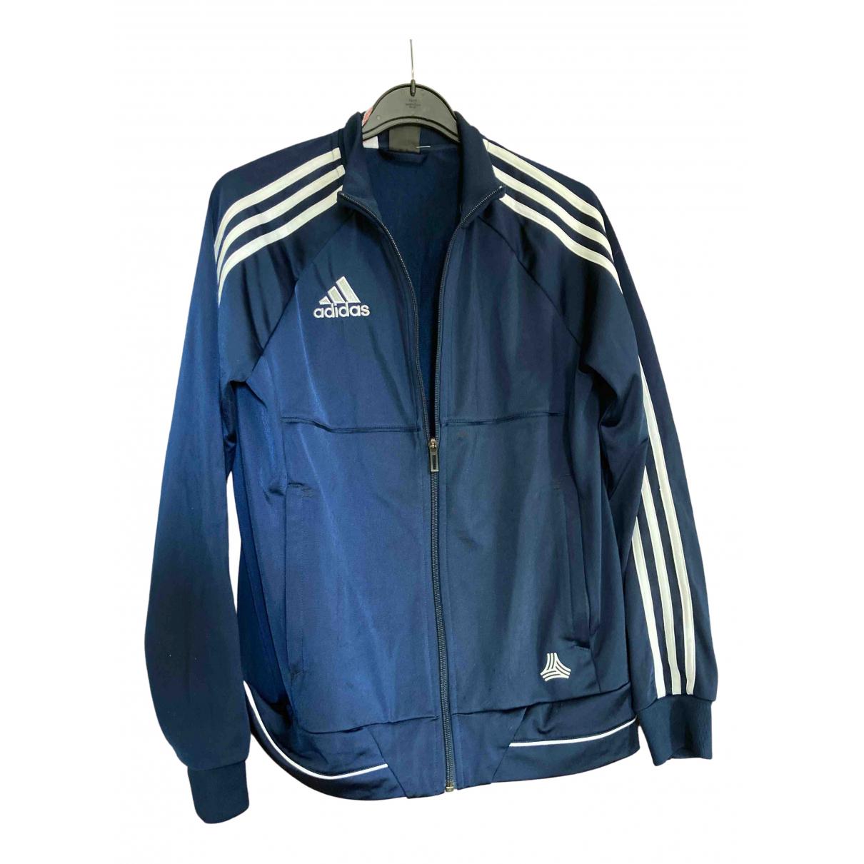 Adidas - Blousons.Manteaux   pour enfant - marine
