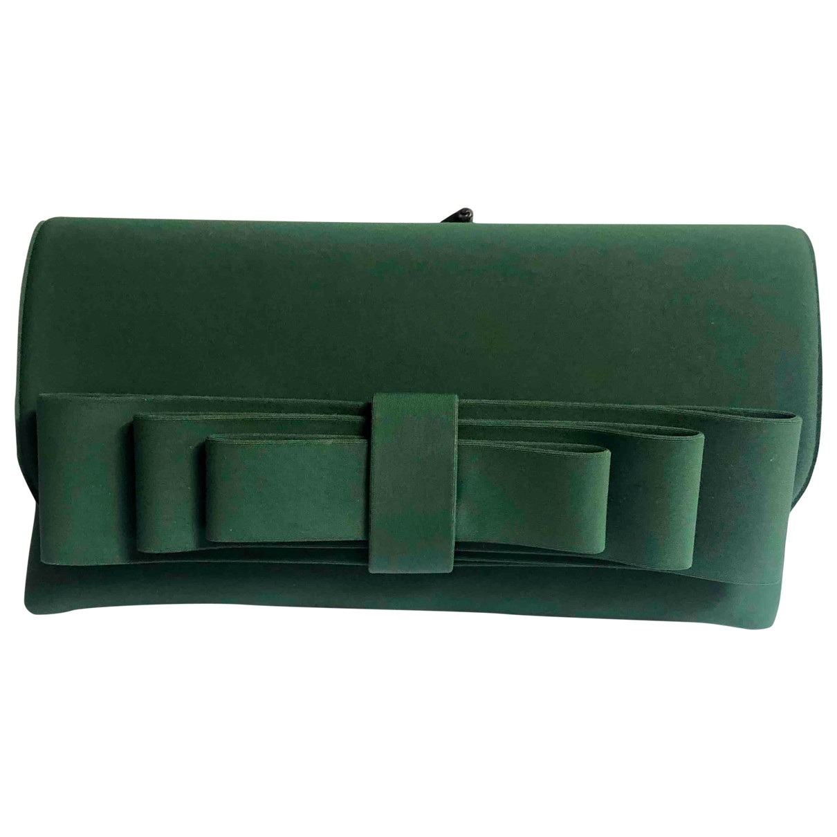 - Pochette   pour femme en toile - vert