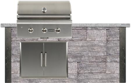 RTAC-G6-WG 6 ft. Grill Island with Coyote C-Series Grill  31