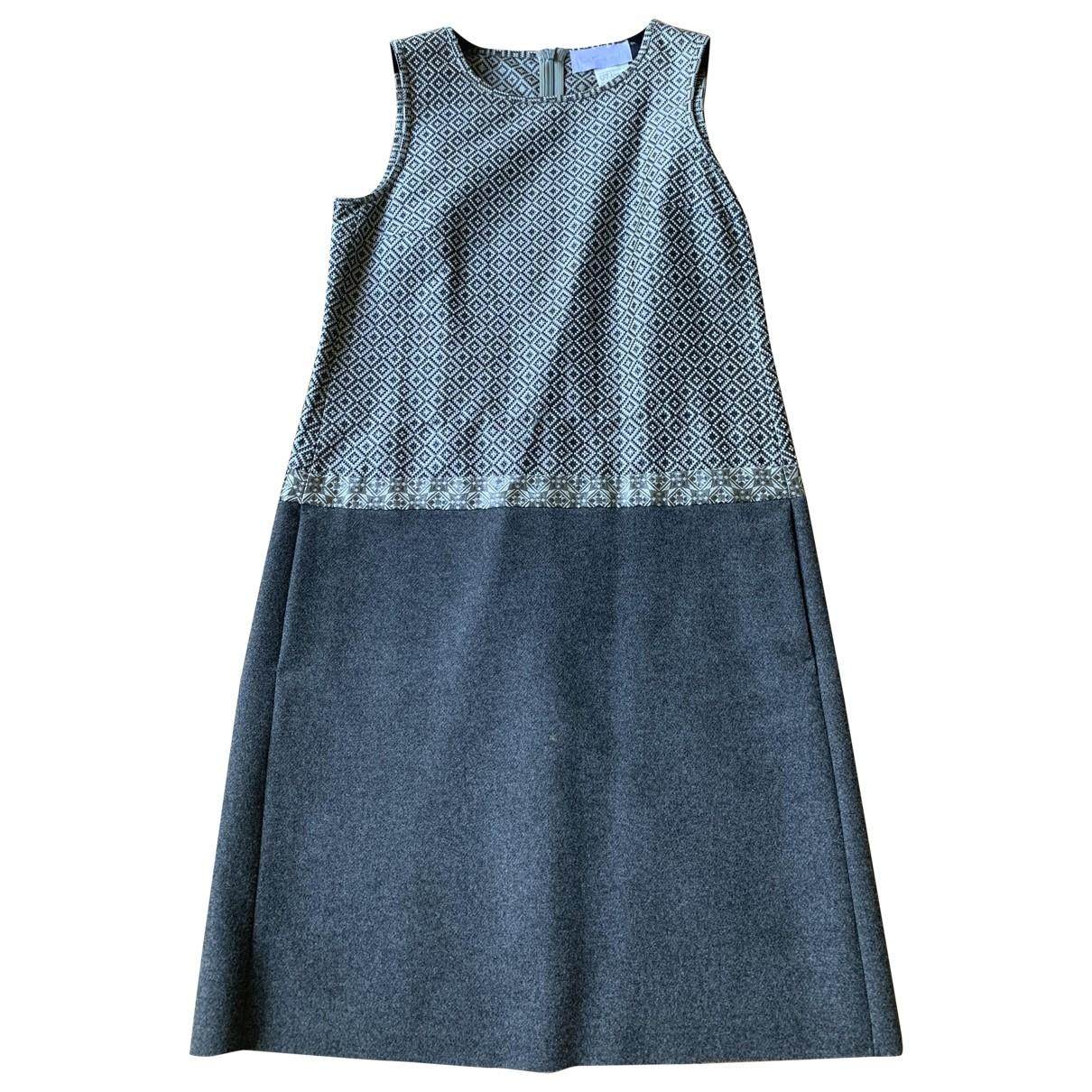 Intrend - Jupe   pour femme en laine - argente