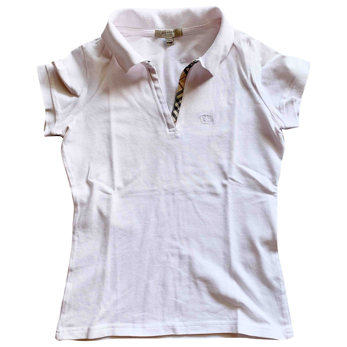 Burberry \N White Cotton  top for Women 38 IT