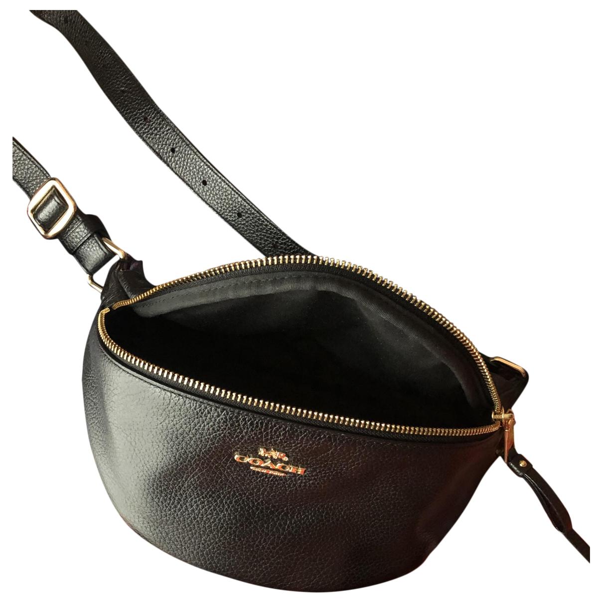 Coach \N Black Leather Travel bag for Women \N