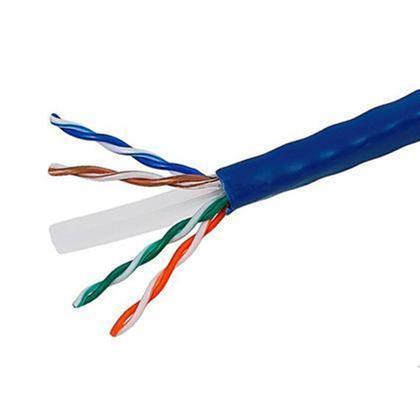 Cat6 23AWG UTP câble en vrac solide, classé CM, 500pi - PrimeCables® - bleu
