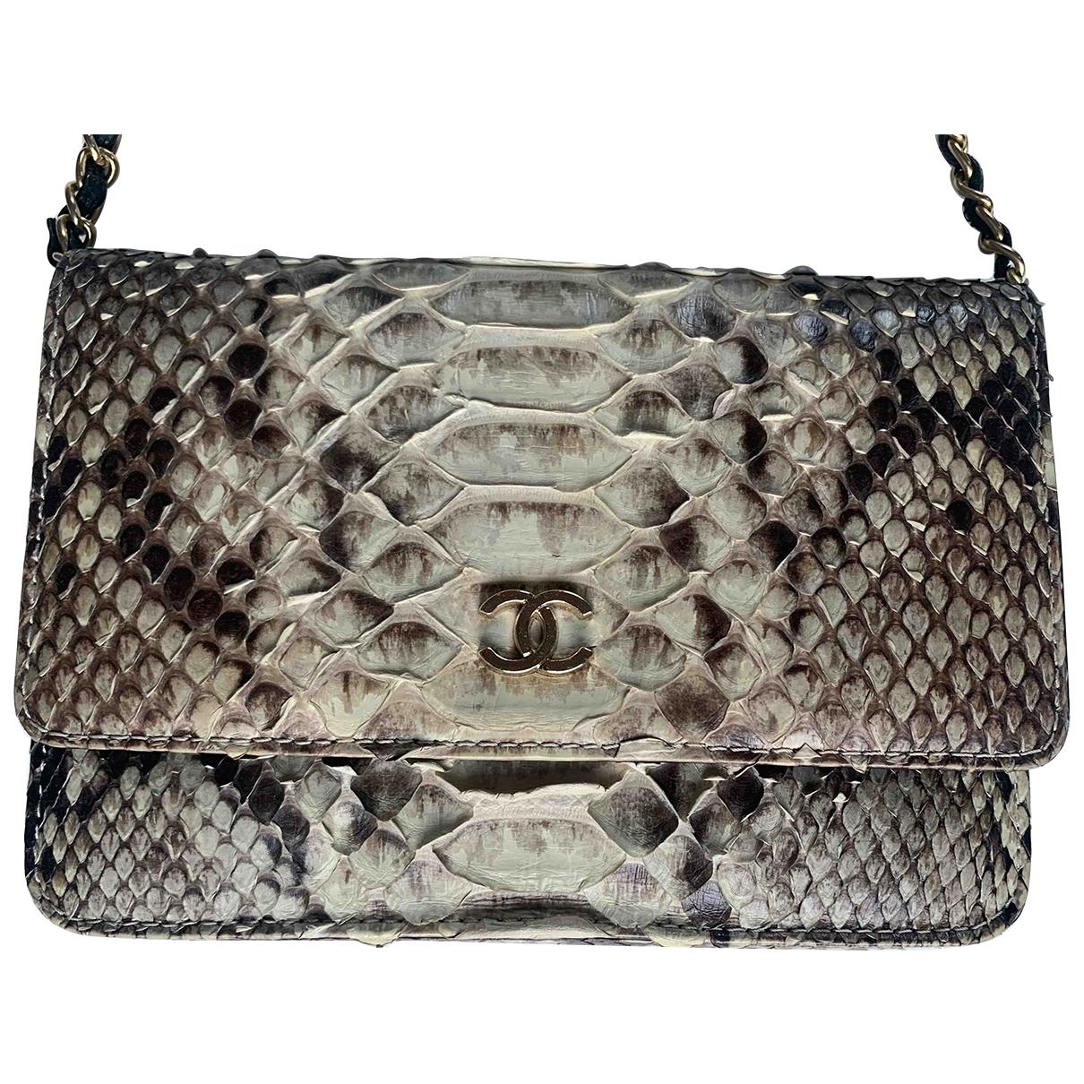 Chanel - Petite maroquinerie   pour femme en python