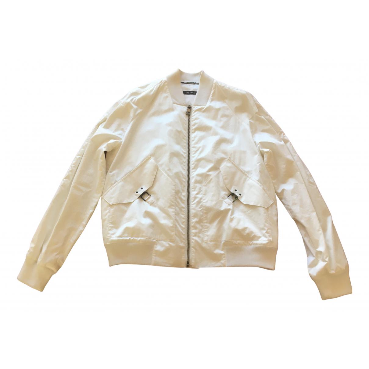 Versace \N White Cotton jacket  for Men 52 IT