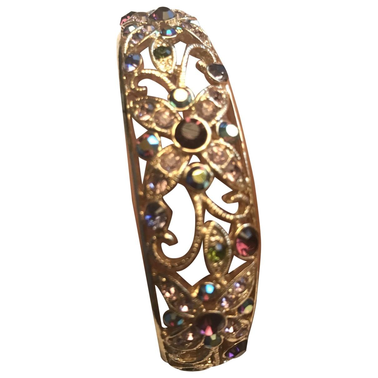 - Bracelet Motifs Floraux pour femme en metal - multicolore