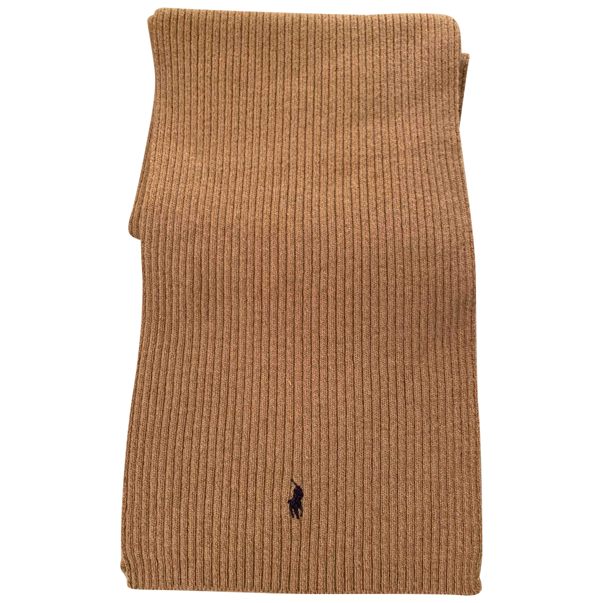 Polo Ralph Lauren \N Beige Wool scarf & pocket squares for Men \N