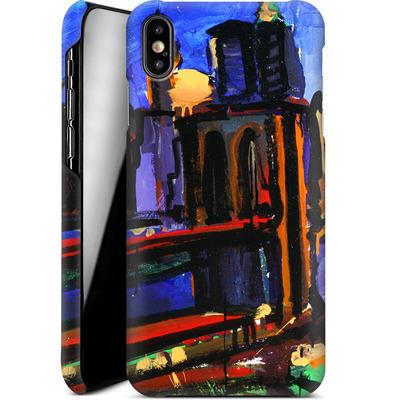 Apple iPhone XS Max Smartphone Huelle - Alive At Night von Tom Christopher