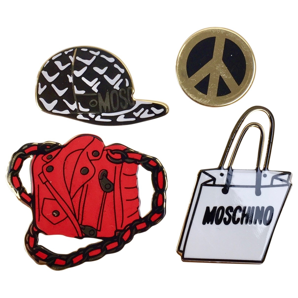 Moschino For H&m \N Multicolour Metal Pins & brooches for Women \N