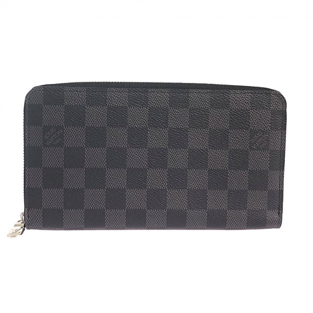 Louis Vuitton Zippy XL Grey Cloth Small bag, wallet & cases for Men \N
