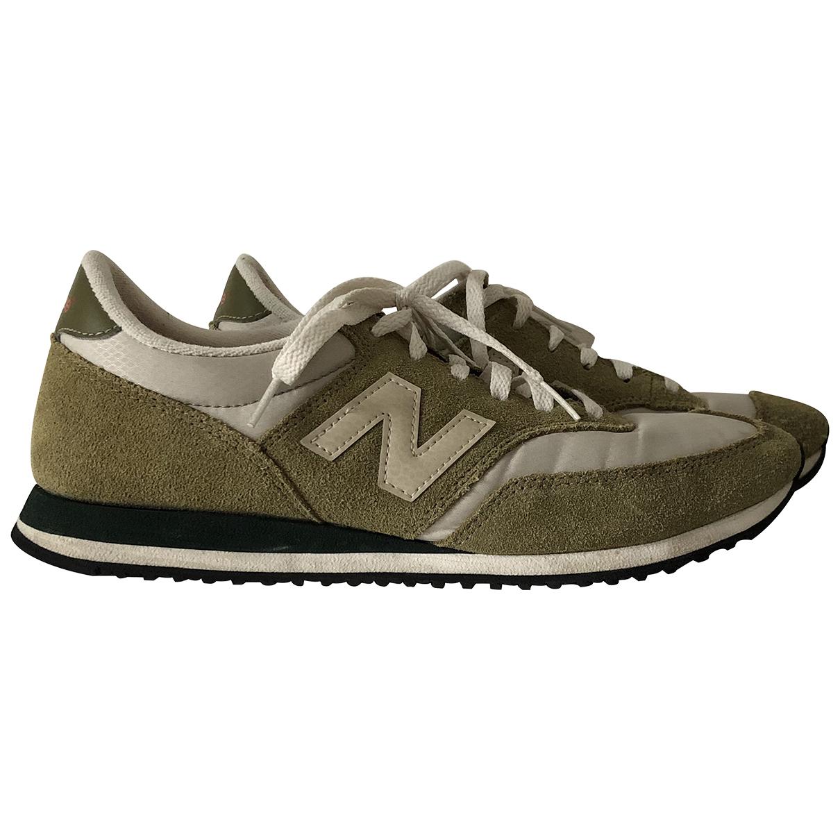 New Balance \N Sneakers in  Khaki Leinen