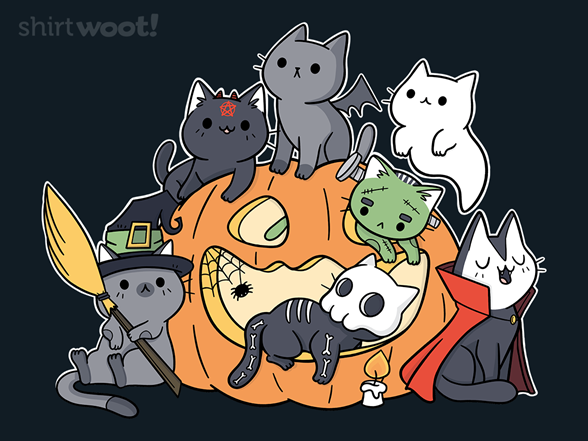 Halloween Kittens T Shirt