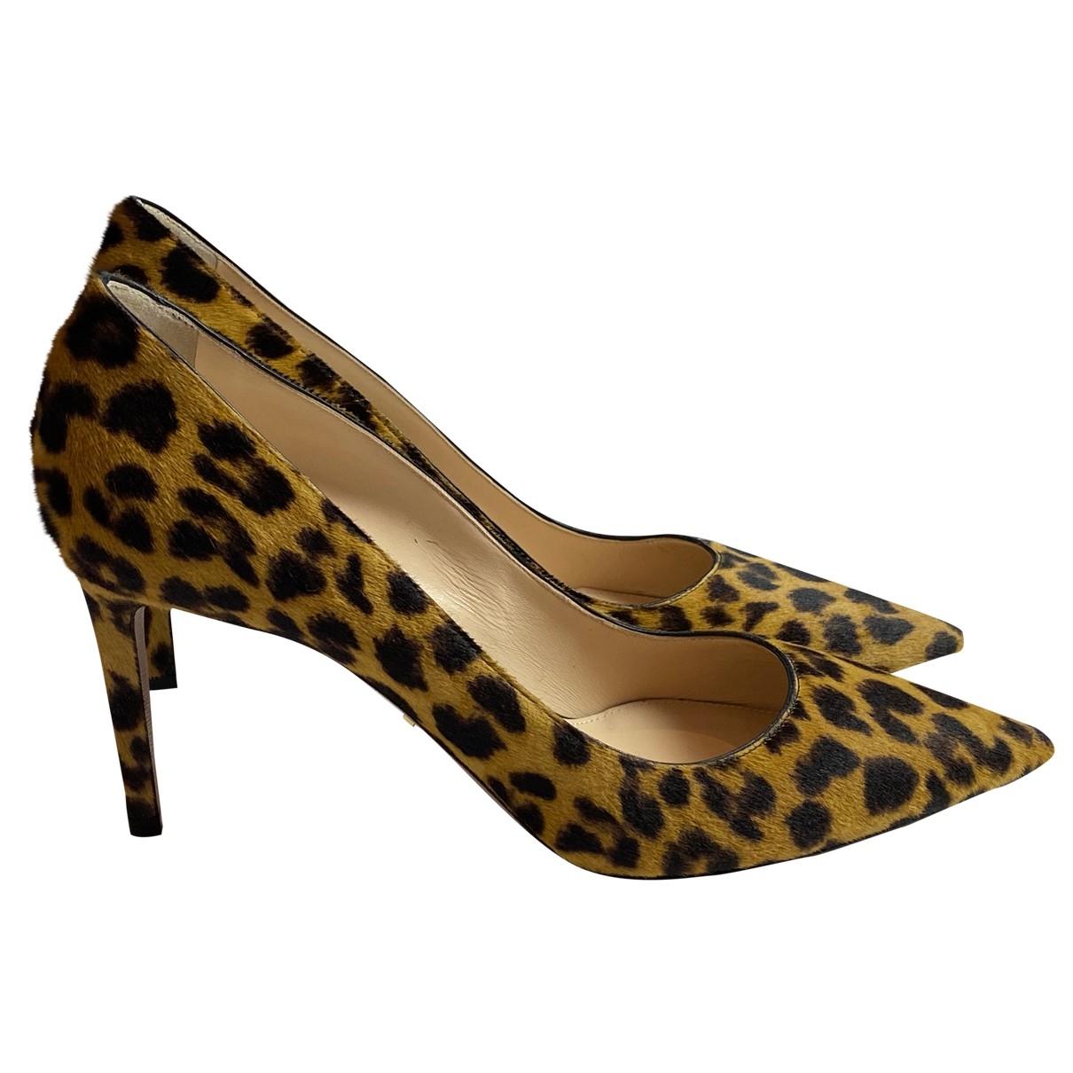 Prada \N Brown Pony-style calfskin Heels for Women 41 EU
