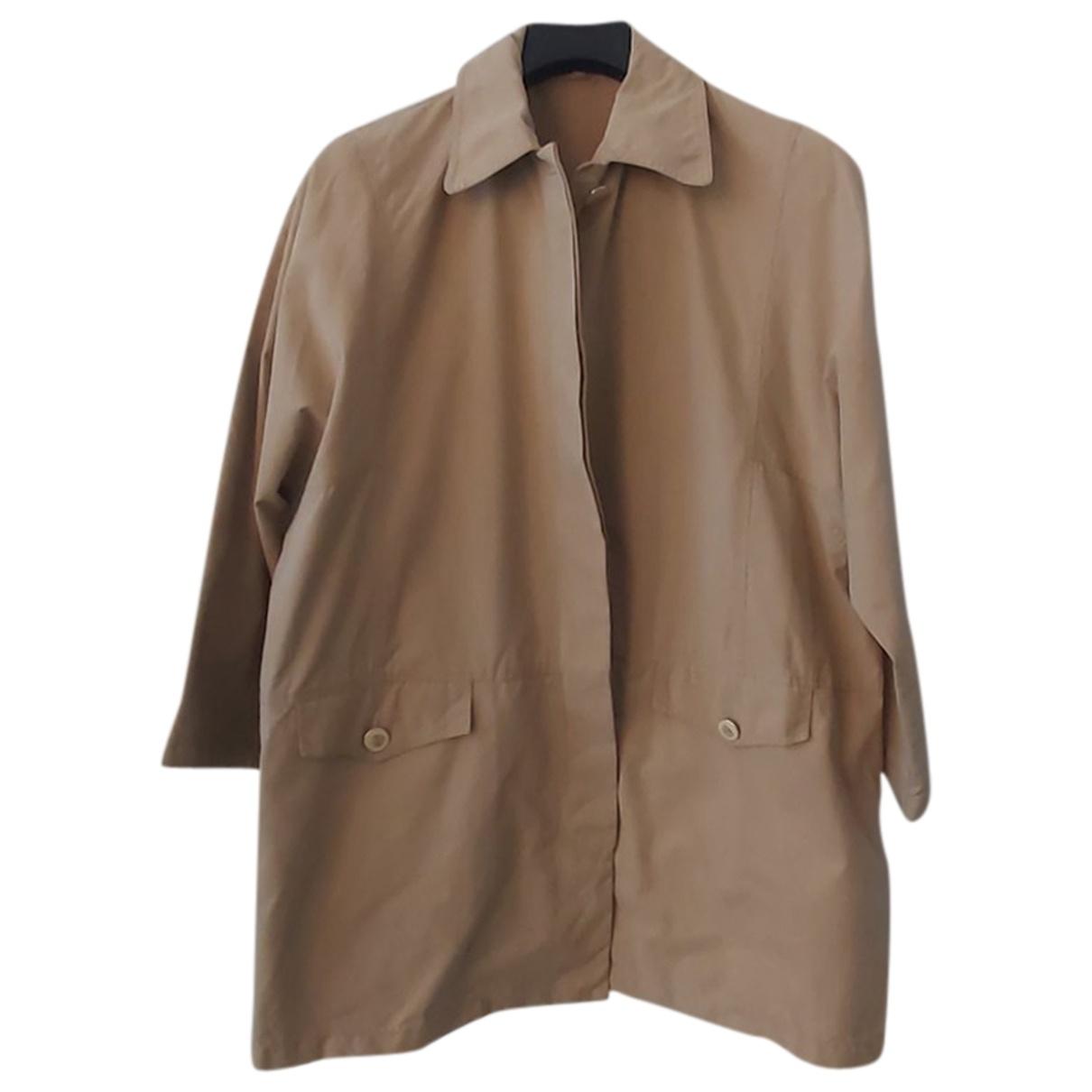 Marella \N Beige Cotton jacket for Women 42 IT