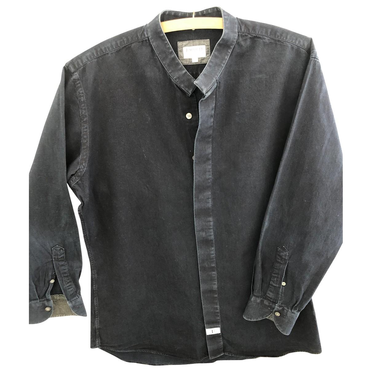 - Chemises   pour homme en coton - marine