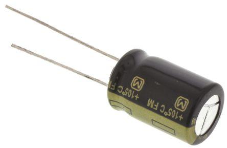Panasonic 680μF Electrolytic Capacitor 16V dc, Through Hole - EEUFM1C681 (5)