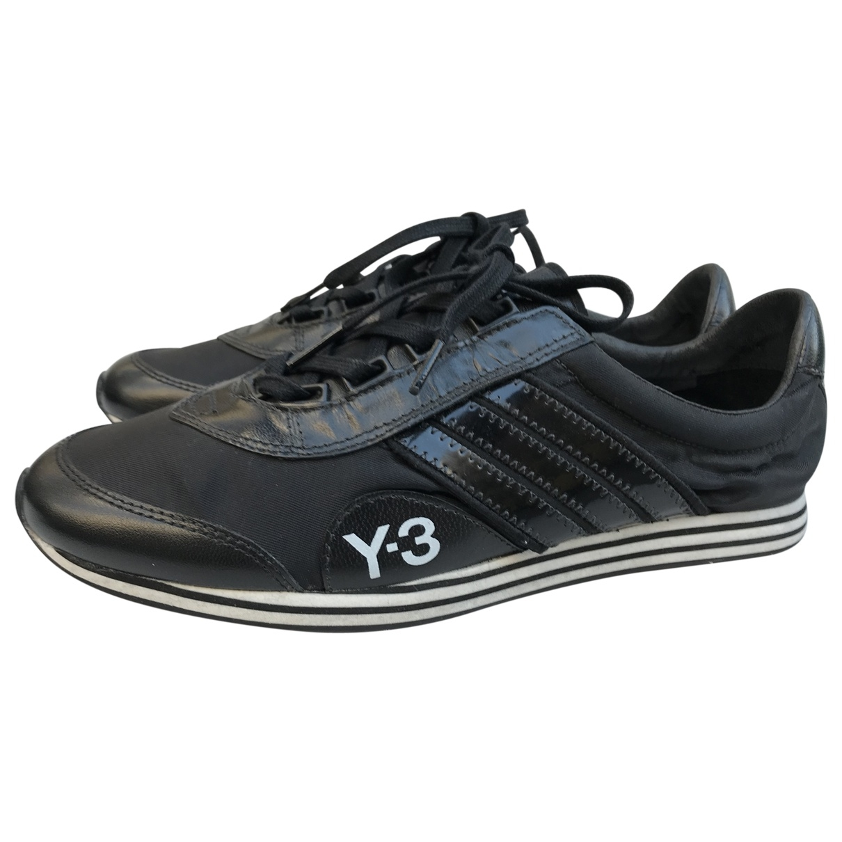 Y-3 \N Sneakers in  Schwarz Polyester