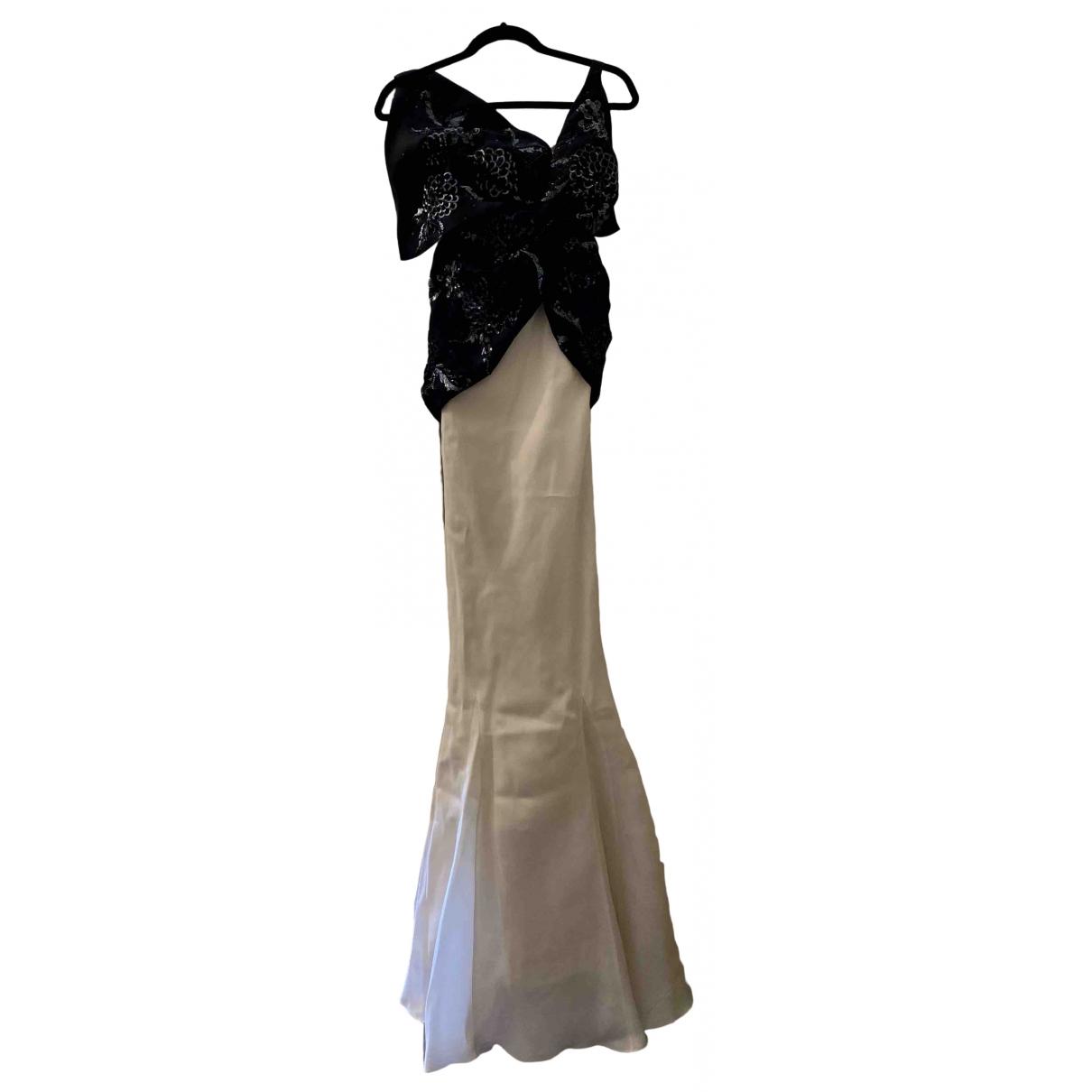 Christian Dior \N White Glitter dress for Women 36 FR