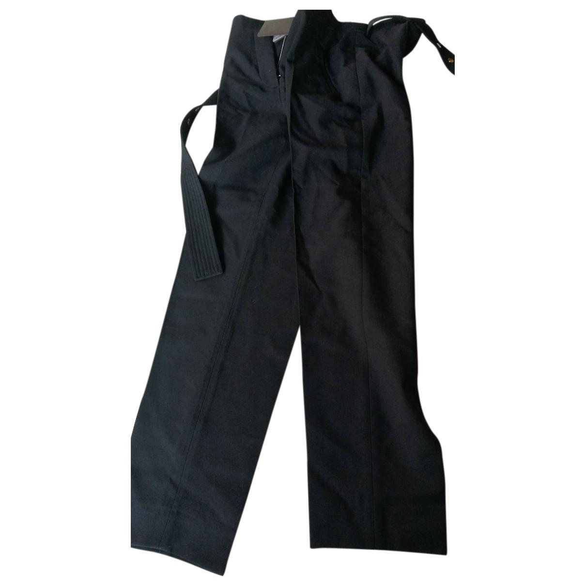Louis Vuitton - Pantalon   pour femme en laine - noir