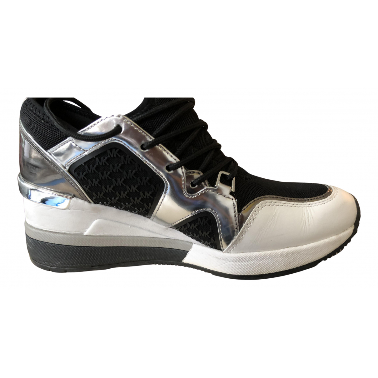 Michael Kors \N Sneakers in  Schwarz Leinen