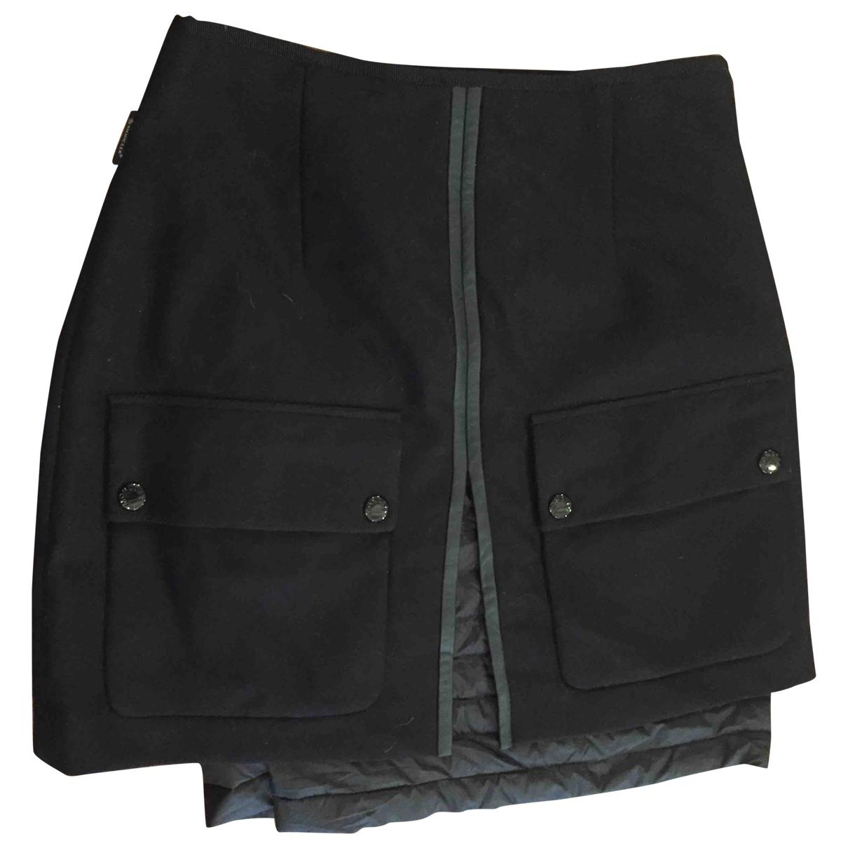 Moncler - Jupe   pour femme en laine - noir