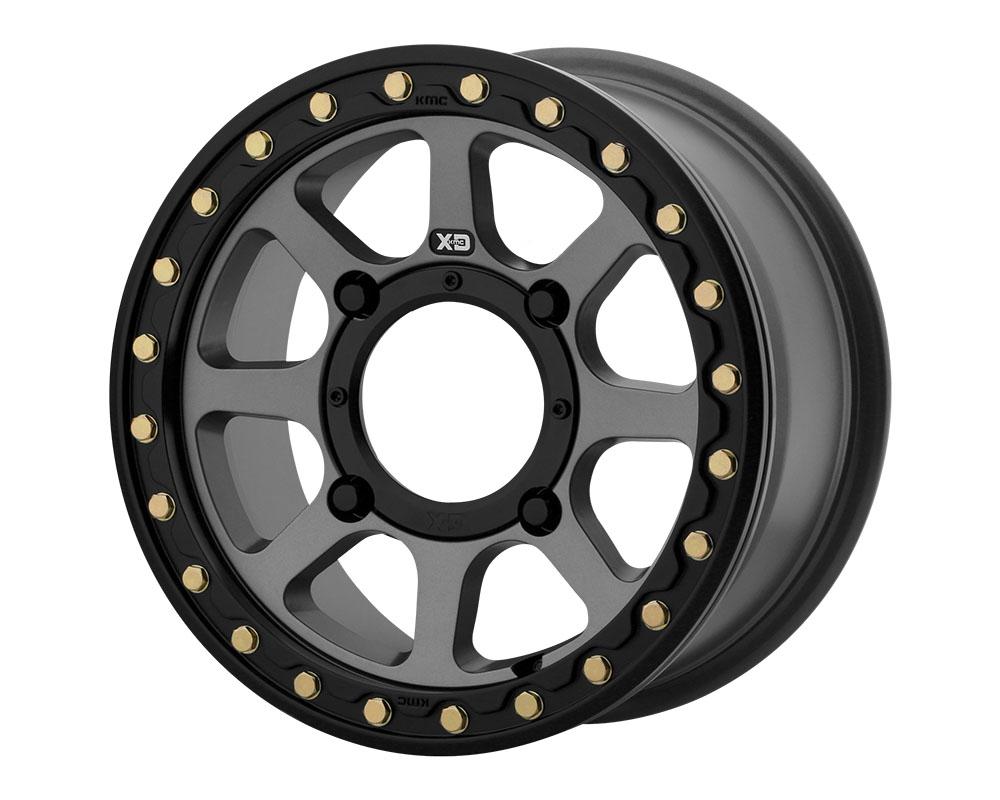 XD ATV XS234 Addict 2 Beadlock Wheel 14x7 4x4x156 +38mm Satin Gray