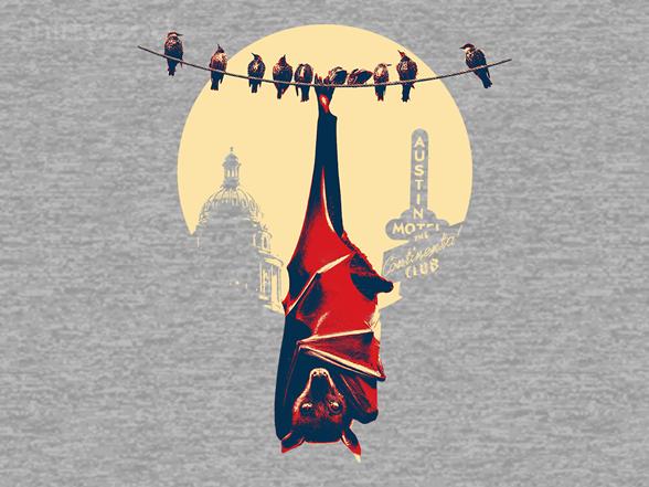 Big Moon Bat T Shirt