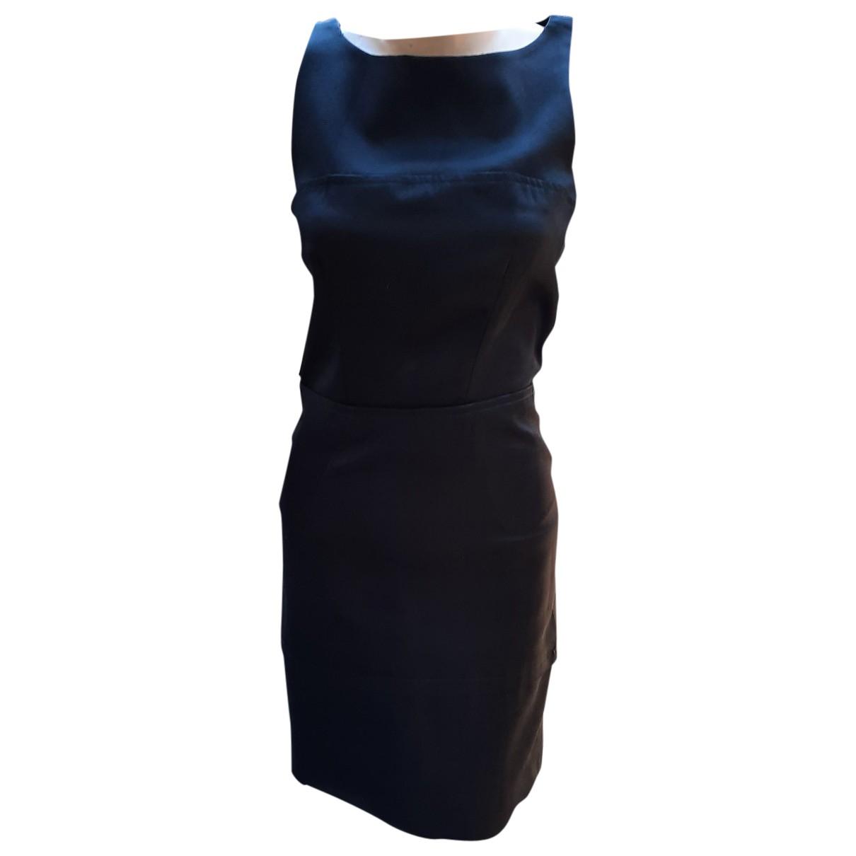 Balenciaga - Robe   pour femme en soie - noir