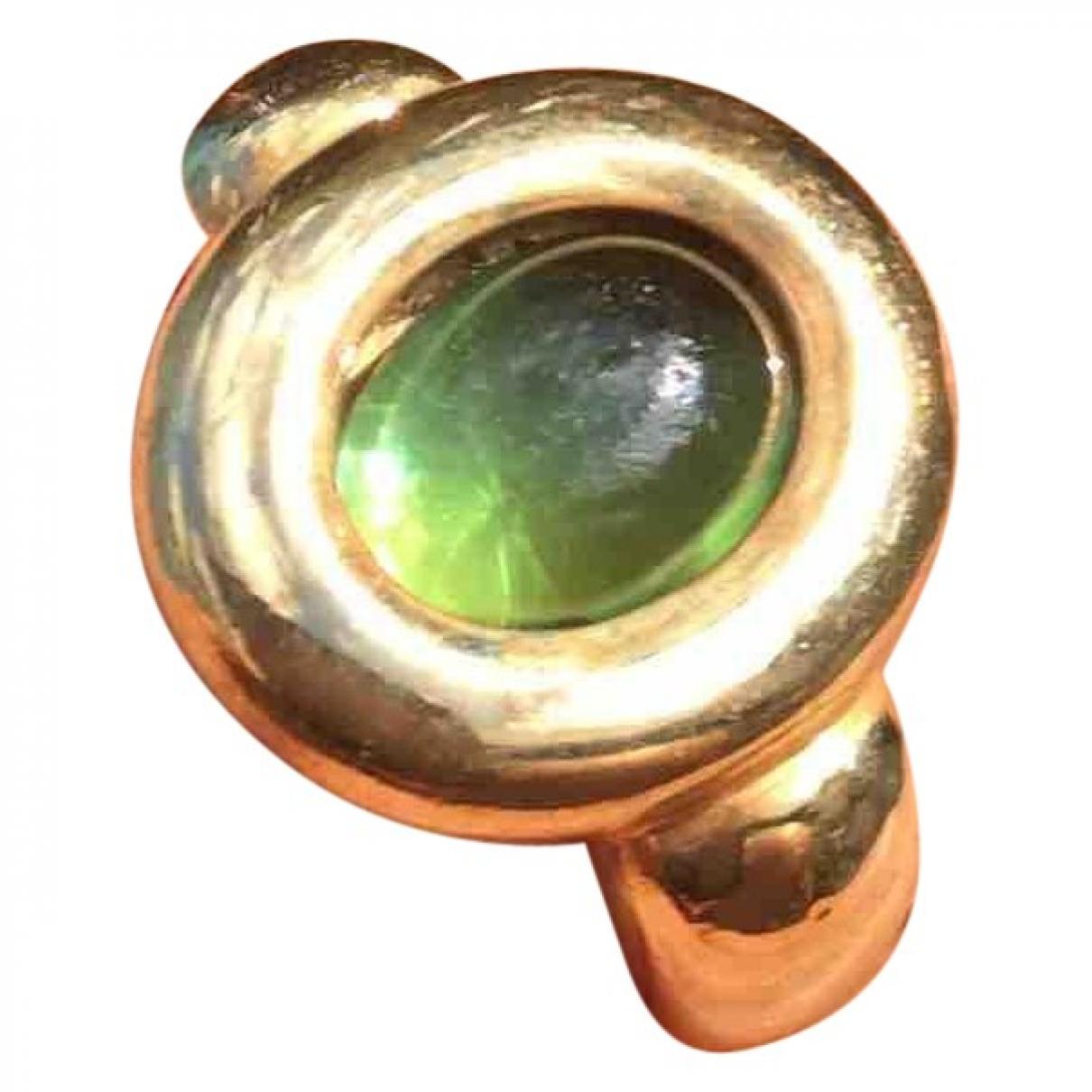 Poiray - Bague   pour femme en or jaune - vert