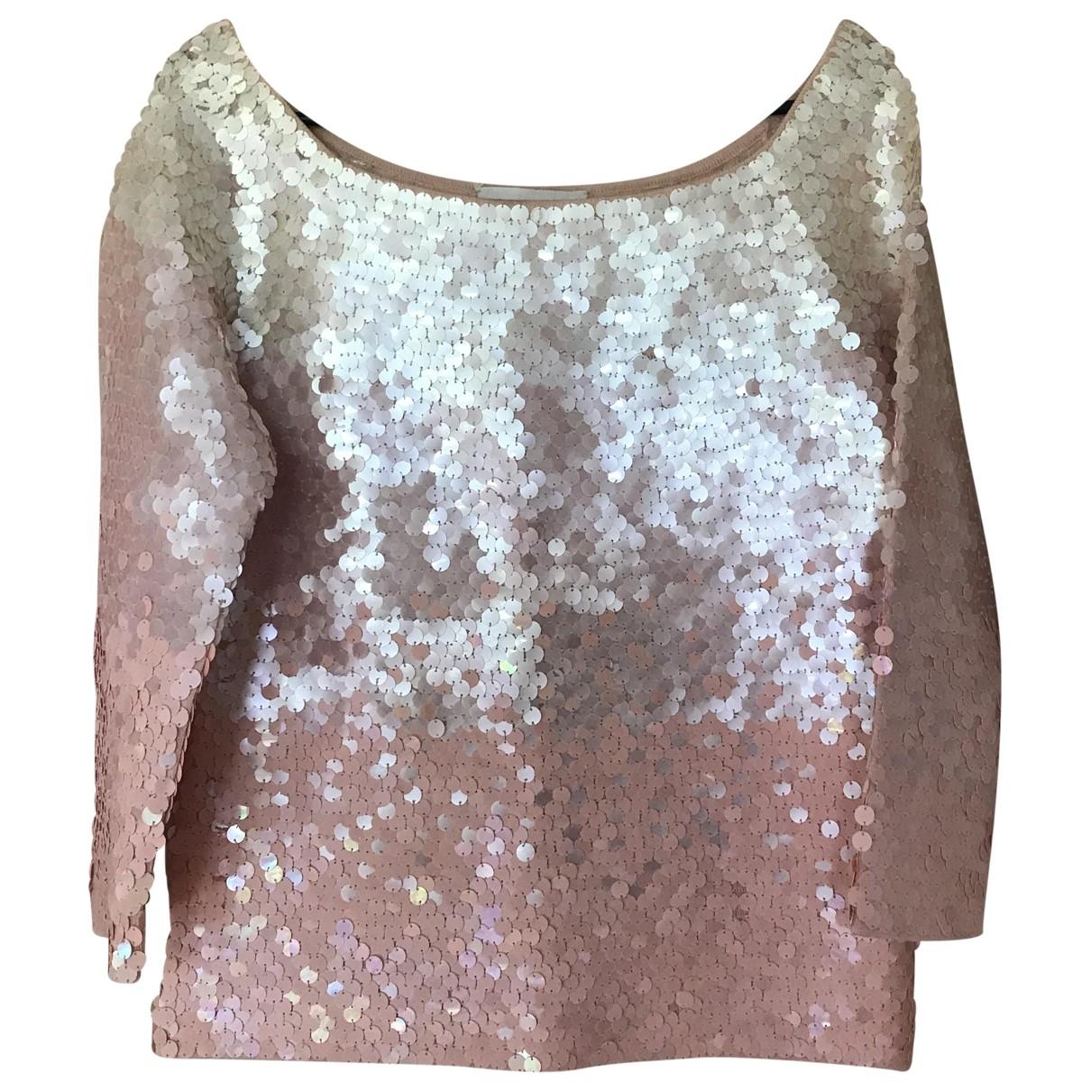 Escada \N Pink Glitter  top for Women 38 FR
