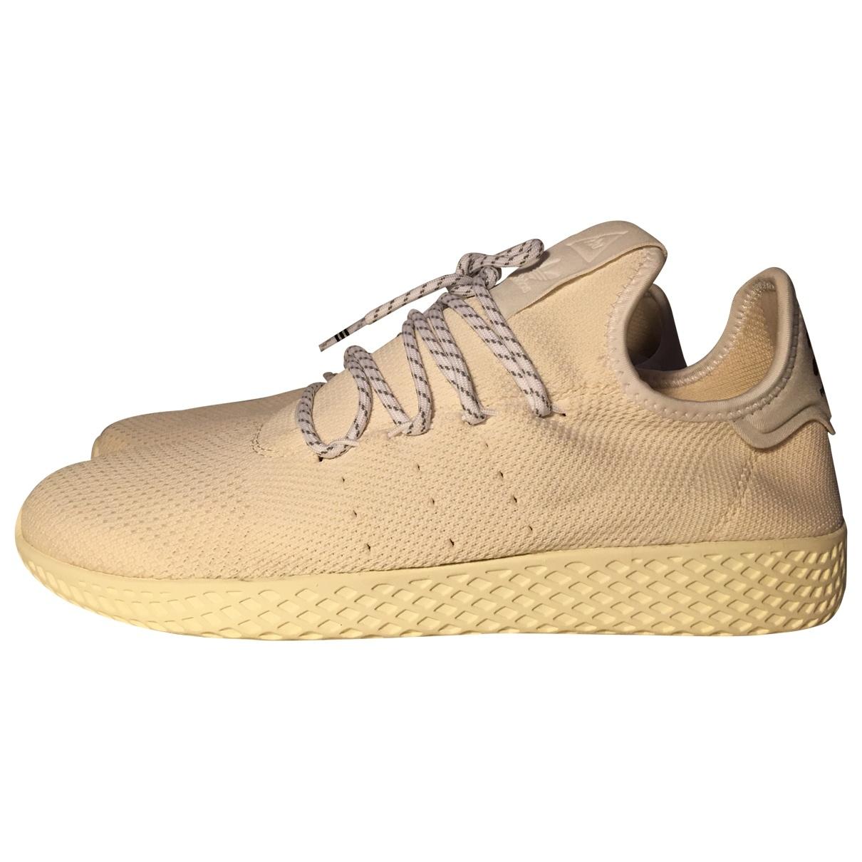 Adidas - Baskets   pour homme en caoutchouc - blanc