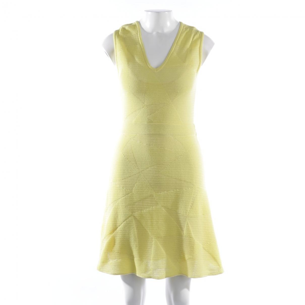 M Missoni \N Kleid in  Gelb Baumwolle