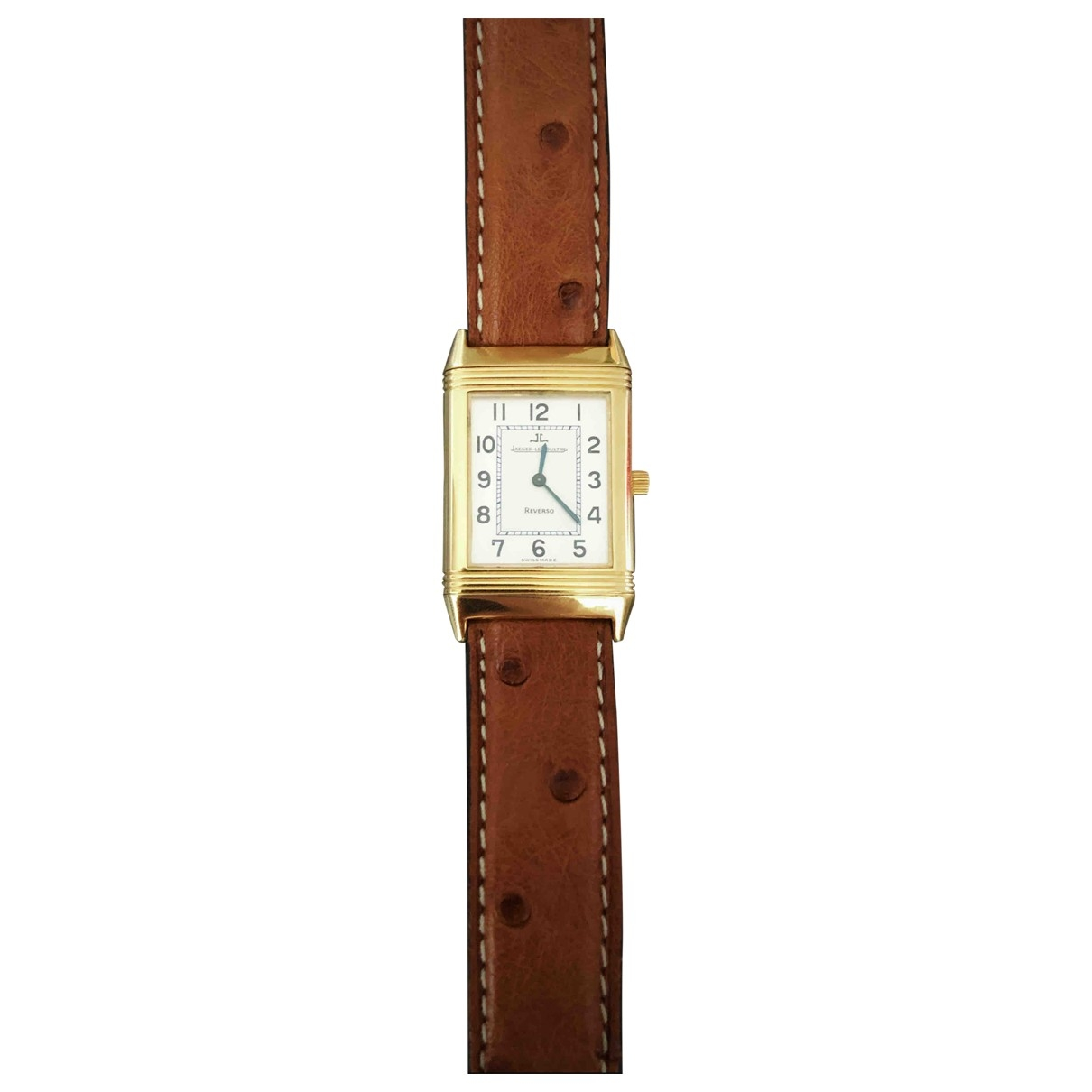 Jaeger-lecoultre Reverso Yellow Yellow gold watch for Men \N