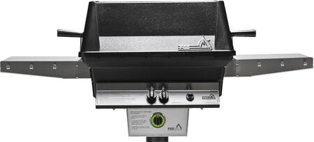 T40NG T- Series Aluminum Commercial Grill Head for Natural Gas with Built In 1 Hour Gas Timer  40 000 BTU  Stainless Steel Cooking Grids  Heavy Duty