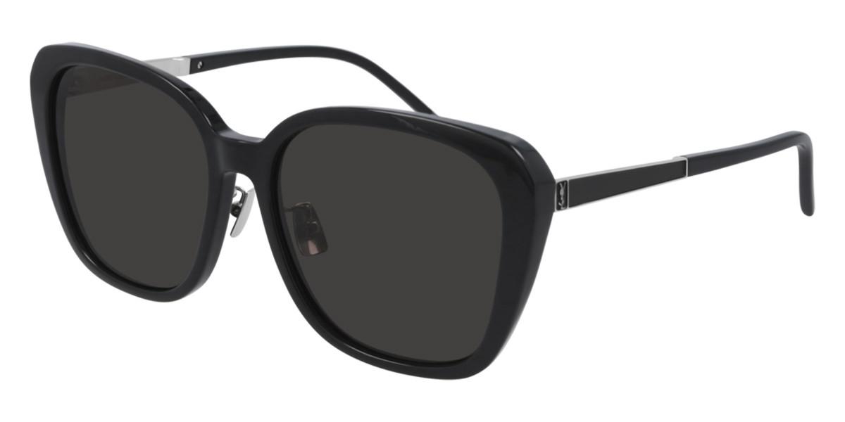 Saint Laurent SL M78/F Asian Fit 001 Women's Sunglasses  Size 58 - Free RX Lenses