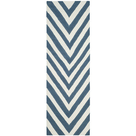 Safavieh Zechariah Hand Woven Flat Weave Area Rug, One Size , Blue