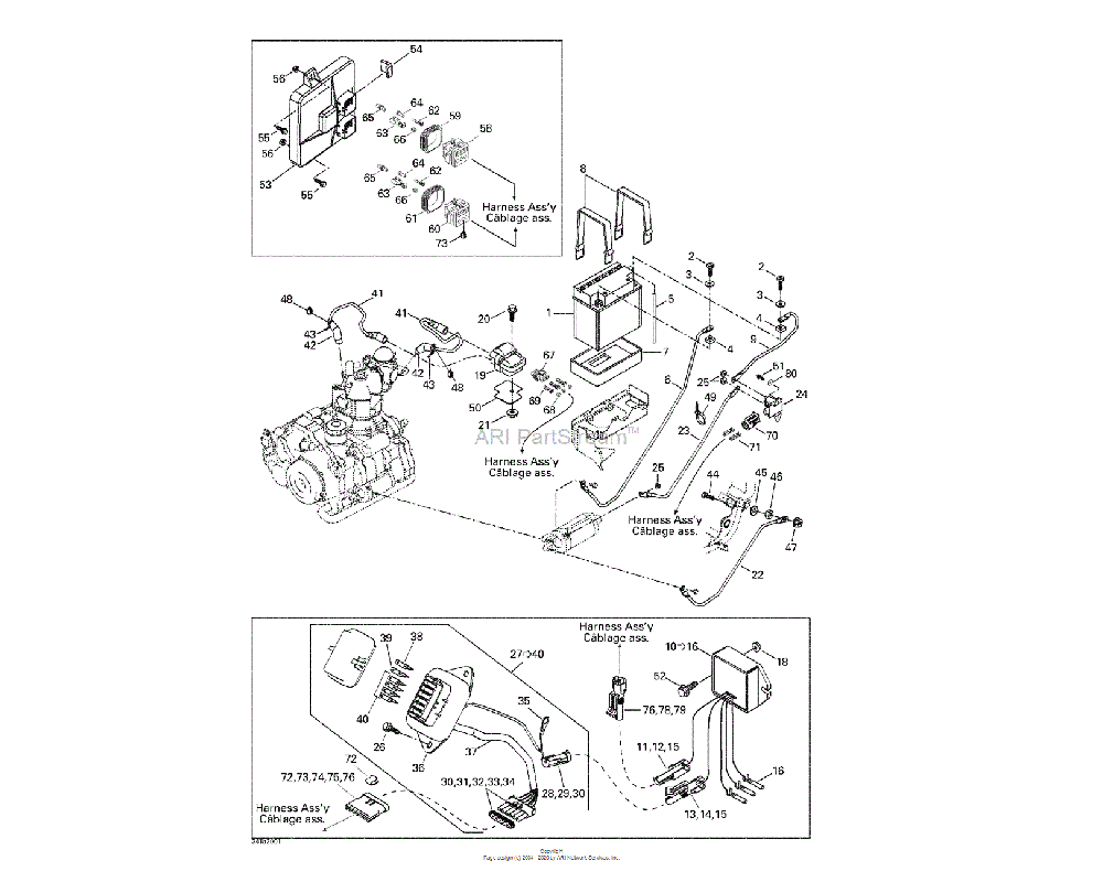 Can-AM OEM Male Housing (2 circuits)
