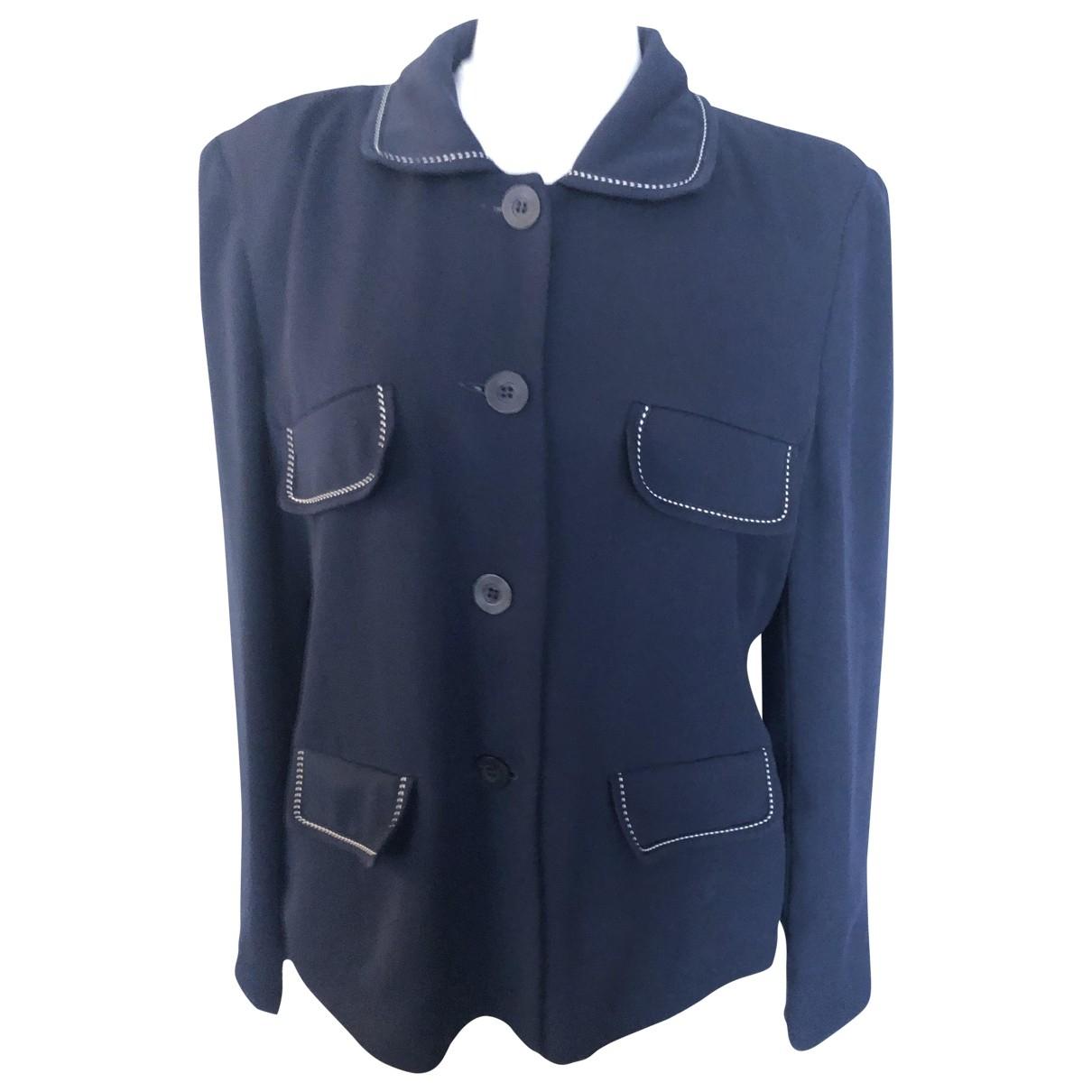 Gerard Darel \N Jacke in  Blau Polyester