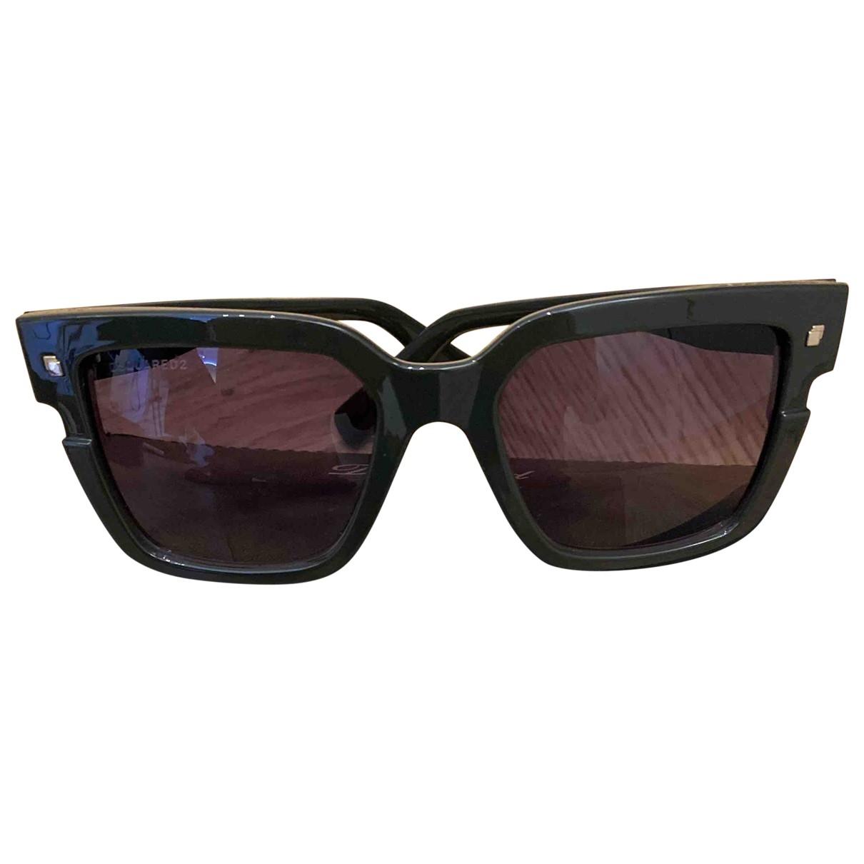 Dsquared2 \N Sonnenbrillen in  Khaki Kunststoff