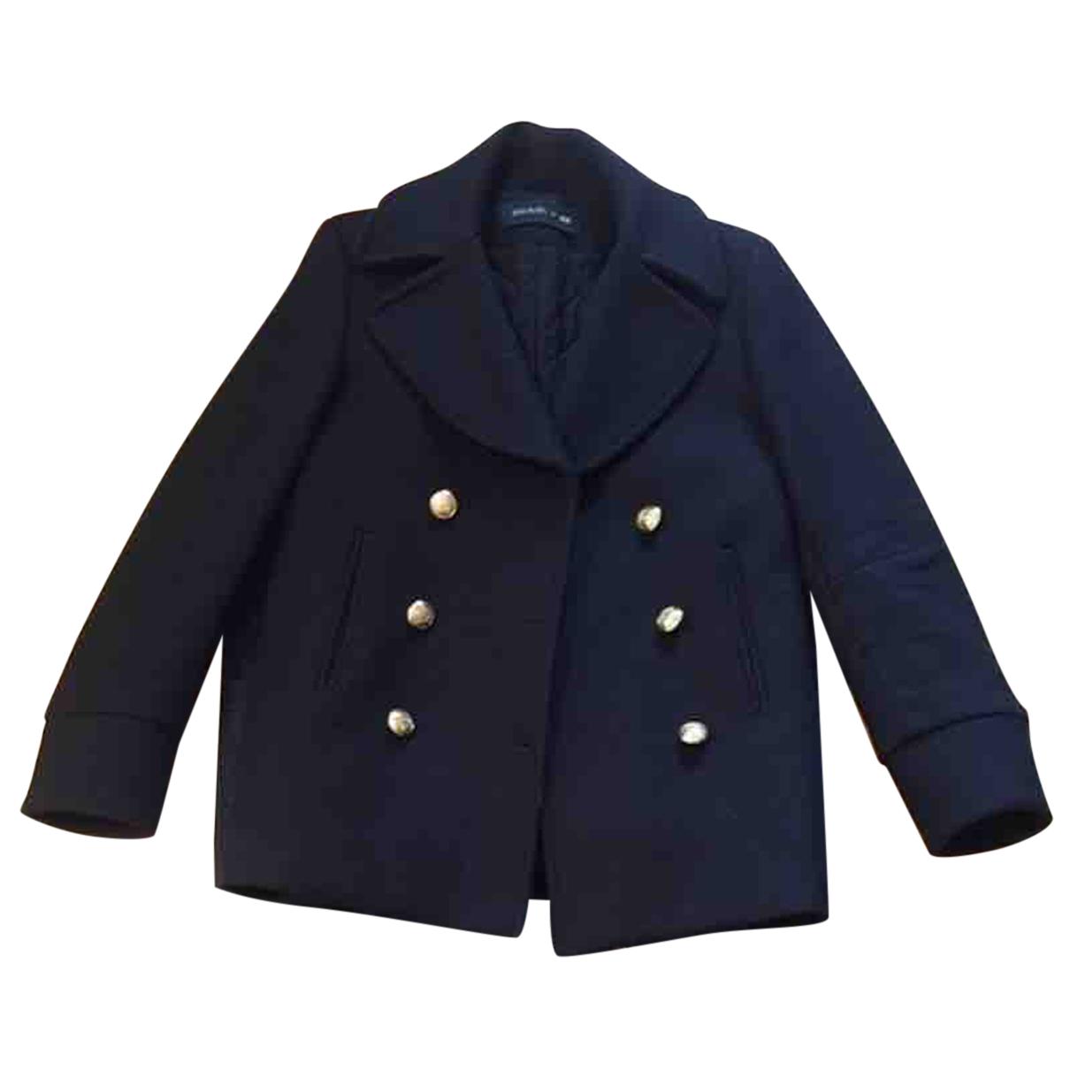 Balmain For H&m N Black Wool jacket for Women 36 FR