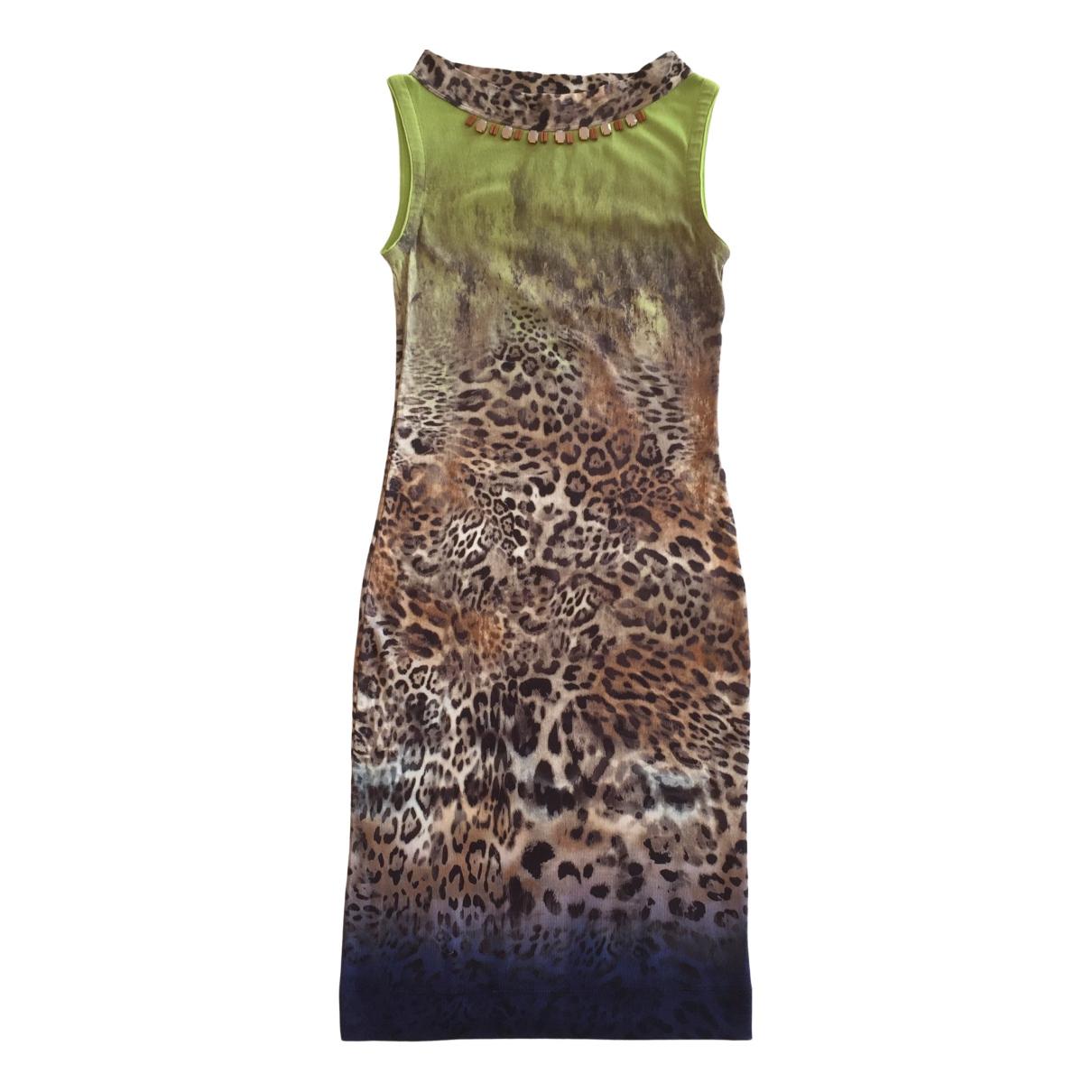 Marc Cain \N Multicolour Cotton dress for Women 6 UK