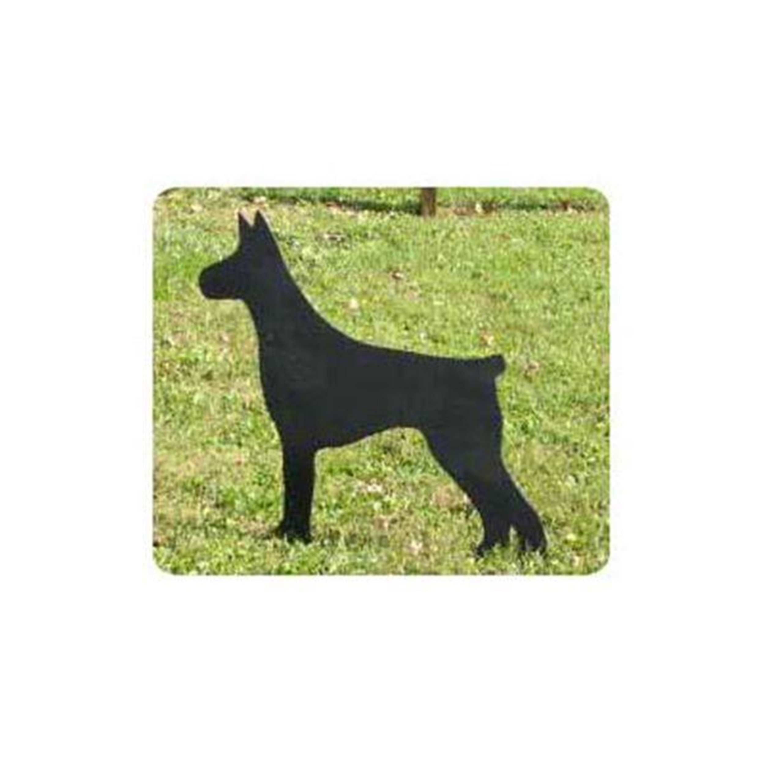 Woodworking Project Paper Plan to Build Doberman Dog Shadow