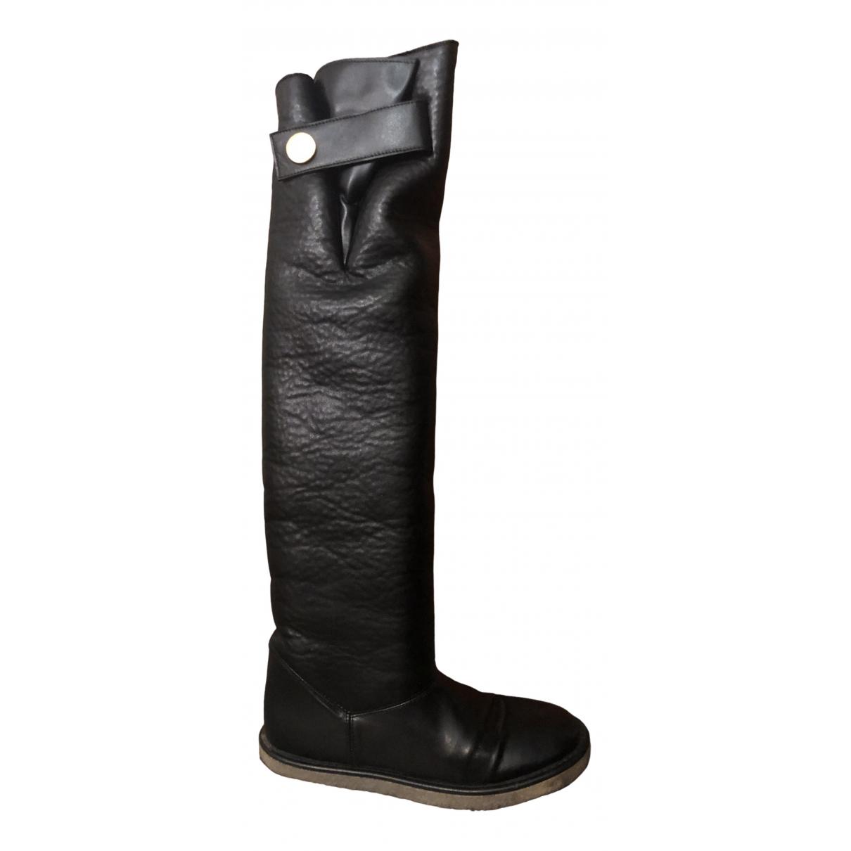 Stella Mccartney \N Black Cloth Boots for Women 37 IT