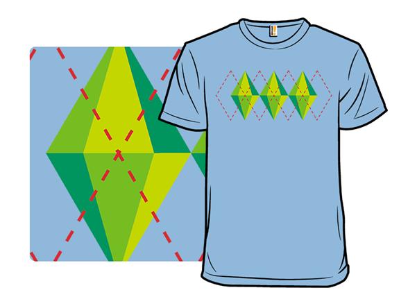 Plumbob Argyle T Shirt