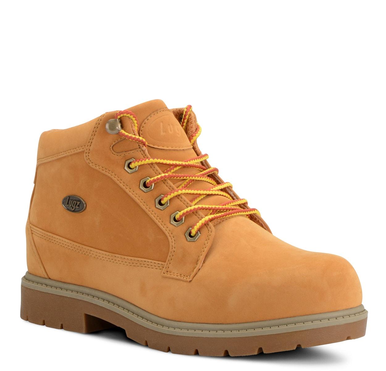 Men's Mantle Mid Chukka Boot (Choose Your Color: GOLDEN WHEAT/TAN-KHAKI/GUM, Choose Your Size: 9.5)