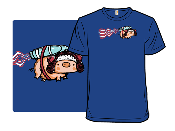 Powered By Bacon T Shirt