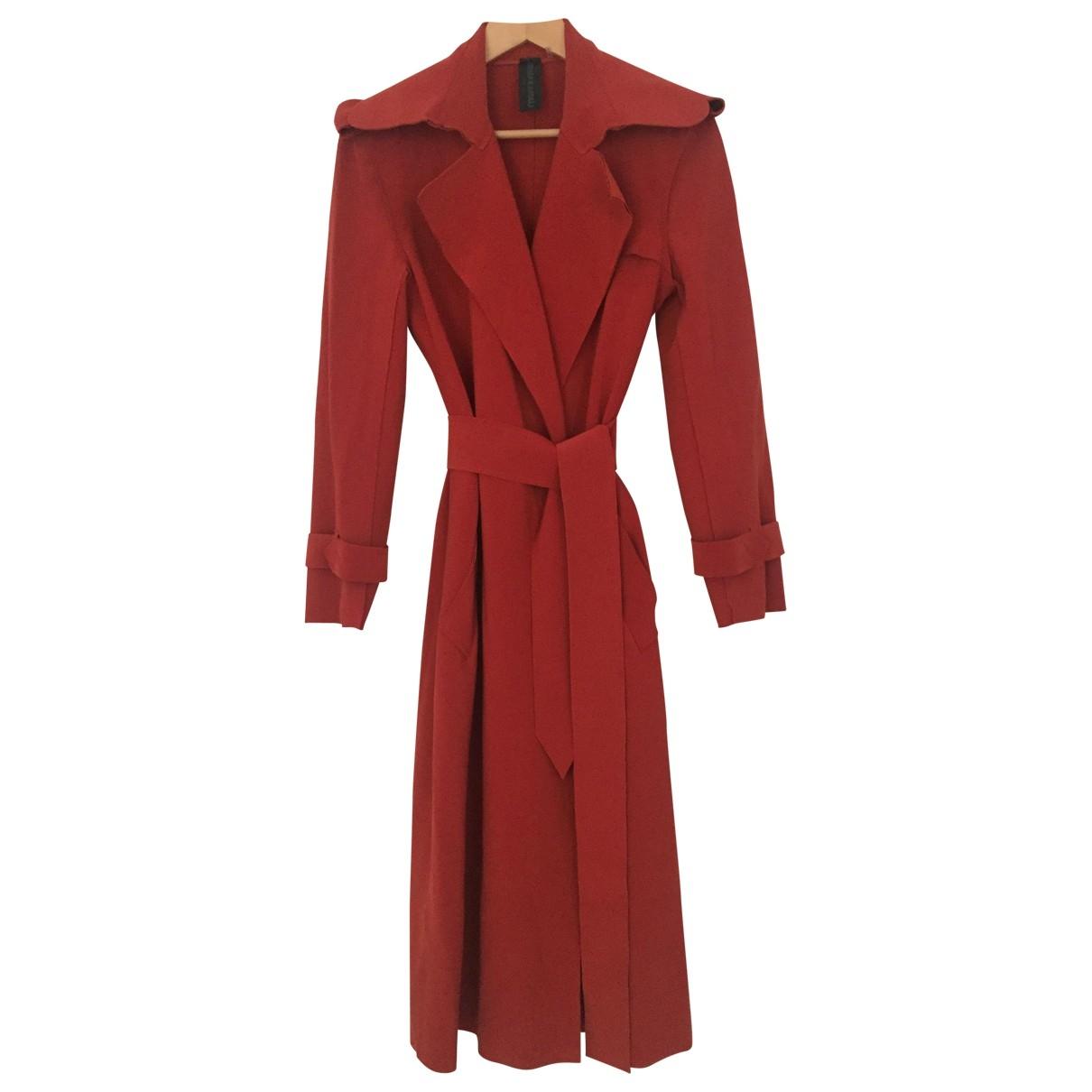 Norma Kamali \N Red Trench coat for Women XS International