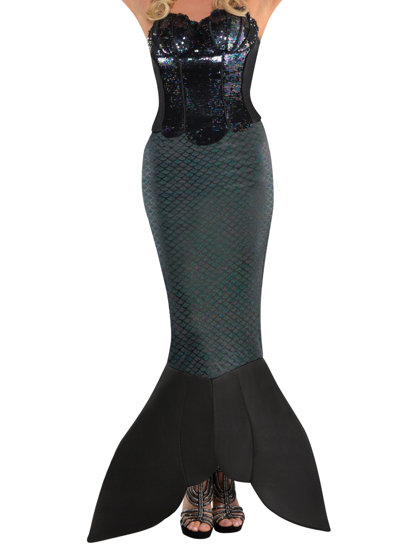 Rock Meerjungfrau Erwachsene Farbe: schwarz