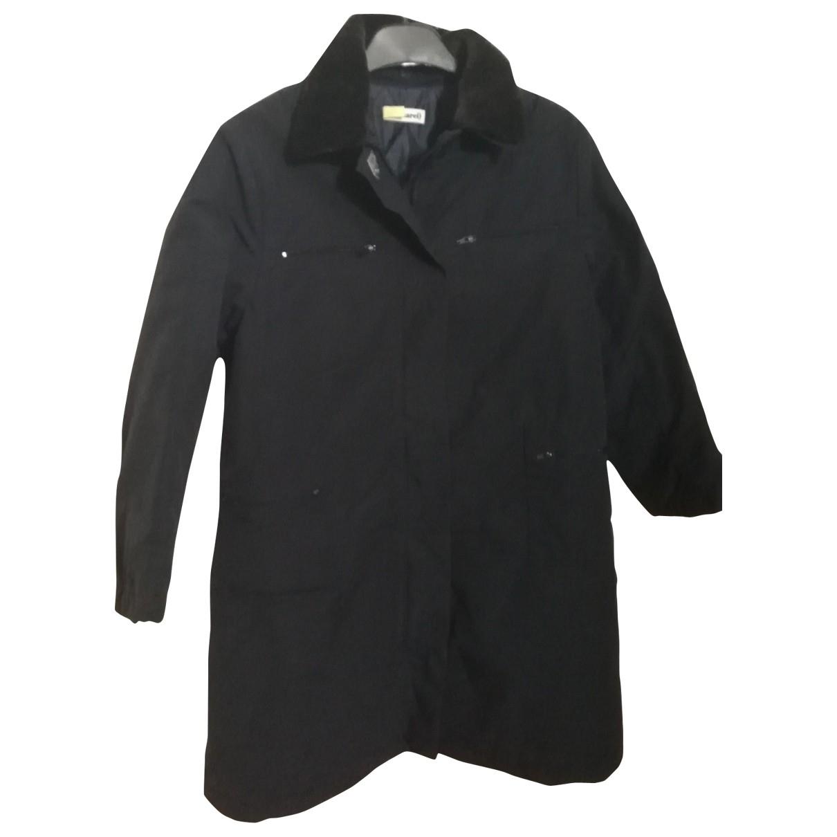 Cacharel - Blousons.Manteaux   pour enfant en coton - noir